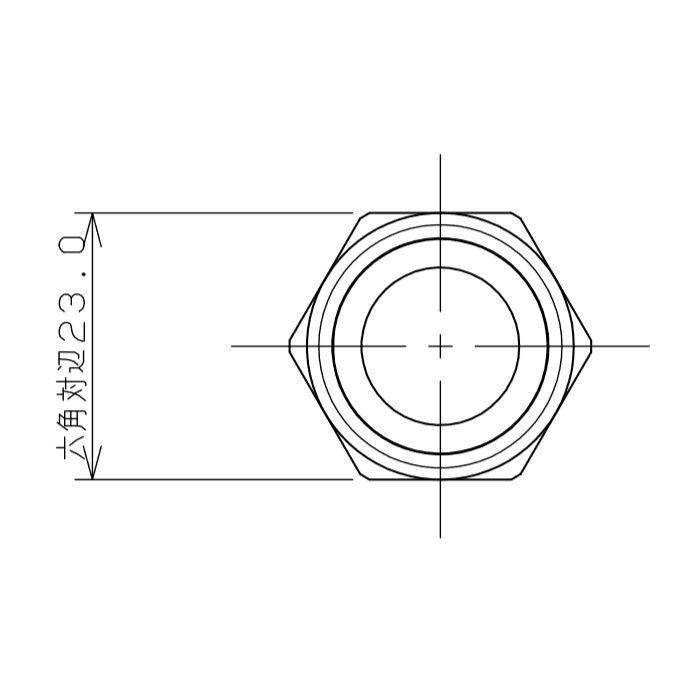 7985-13X500 水道用フレキパイプ ガイドつき