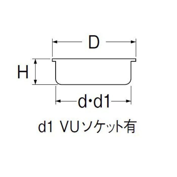 H417B-125 ステンレス目皿