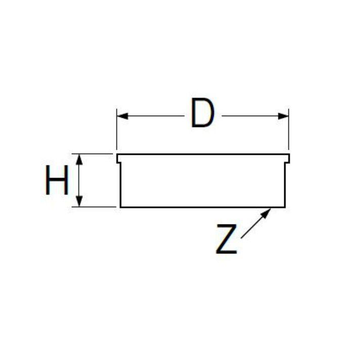 H45-75 内ネジ防虫目皿