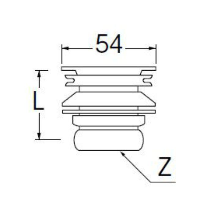 PH31-25 丸鉢排水栓