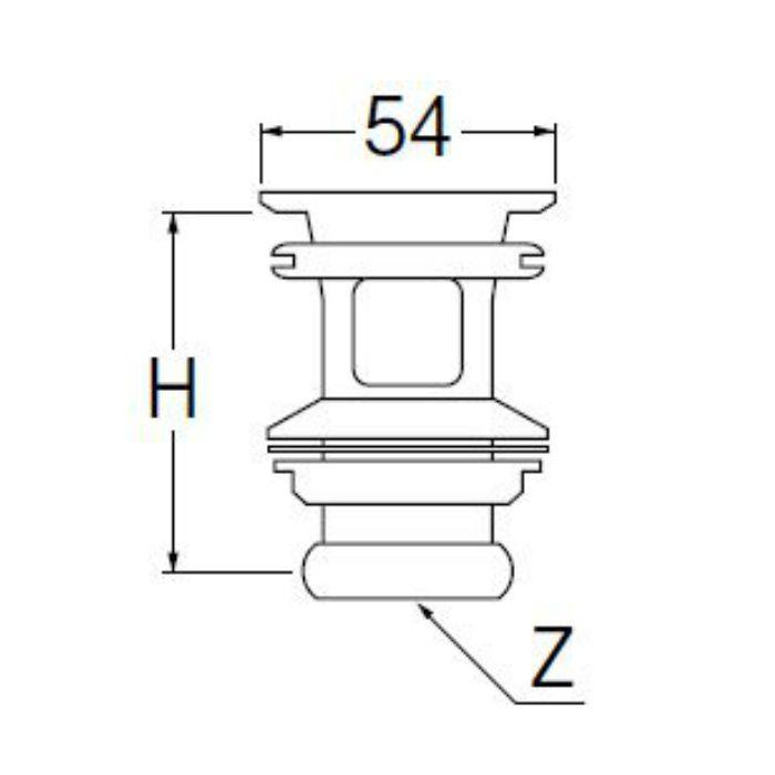 PH33-25 横穴排水栓