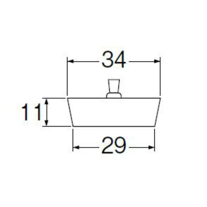 PH28 洗面用クサリ付ゴム栓