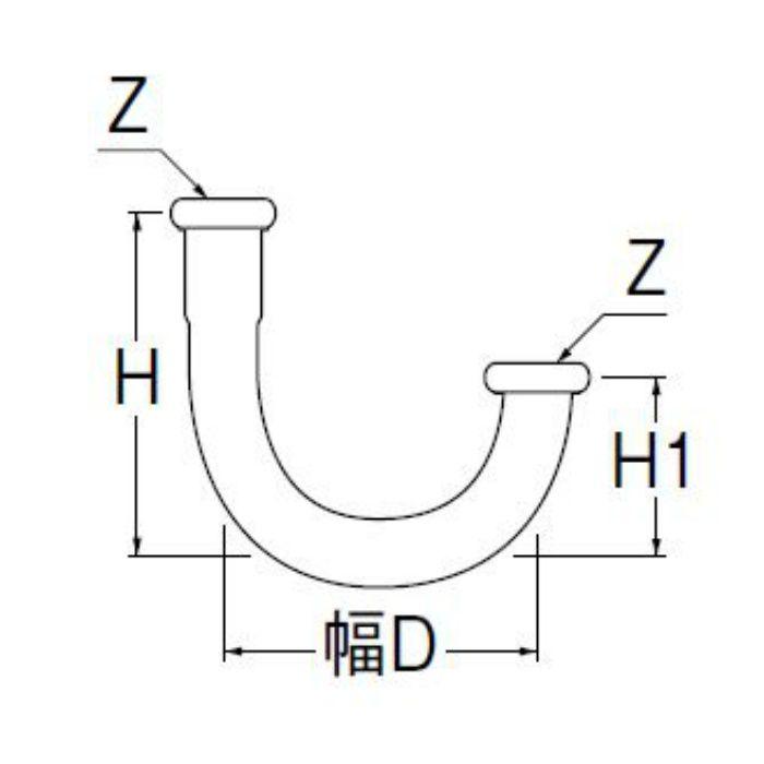 H70-670-32X100 幅広U管