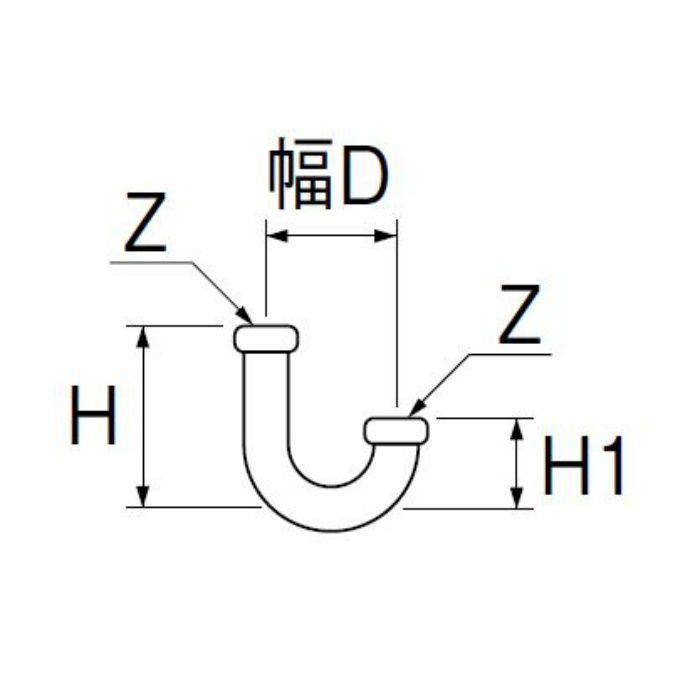PH70-67-32 トラップ用U管