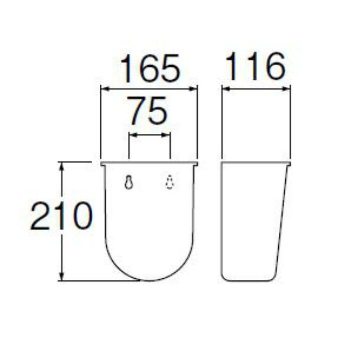 H770-88 水受バケット