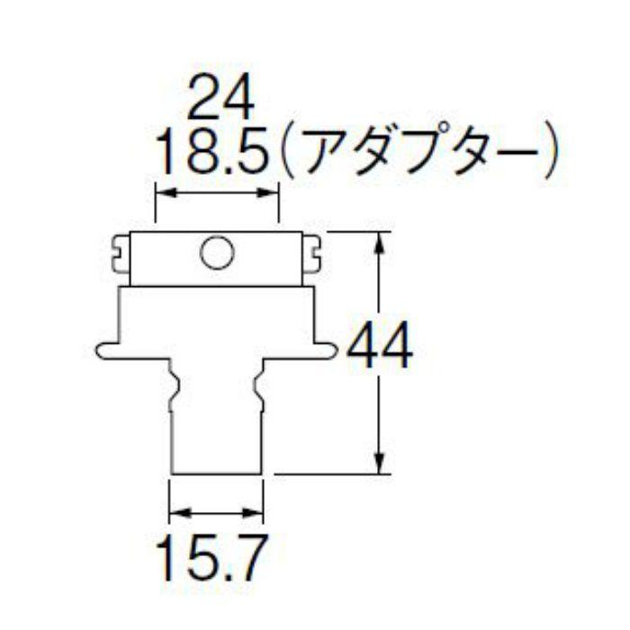 PT17-1F 自動洗濯機元口