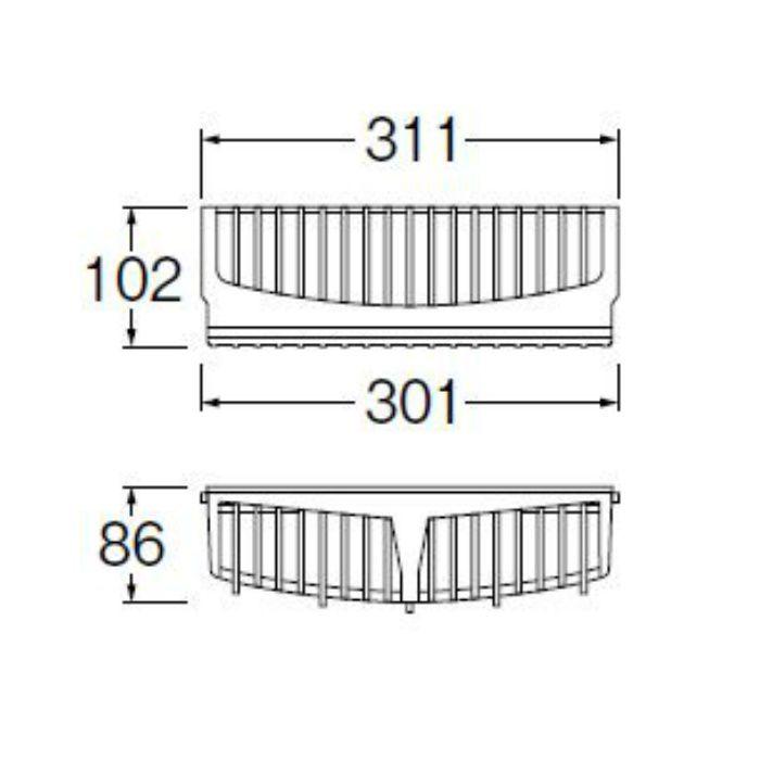 H5412F1 洗濯機パン用カバー