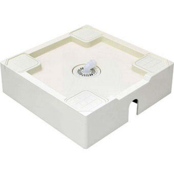H546-640 洗濯機パン(床上配管用) アイボリーホワイト