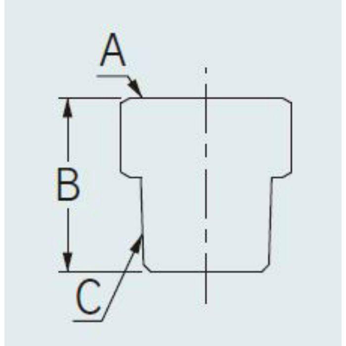 642-801-13 配管継手 ネジ変換アダプターB 13