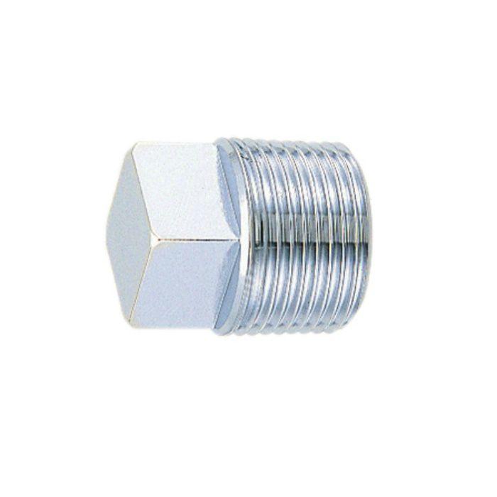 6168A-13 配管継手 プラグ(クローム) 13