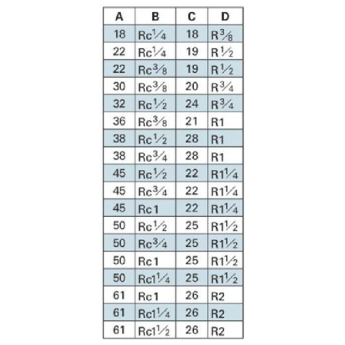 6167-30X13 配管継手 砲金ブッシング 30×13