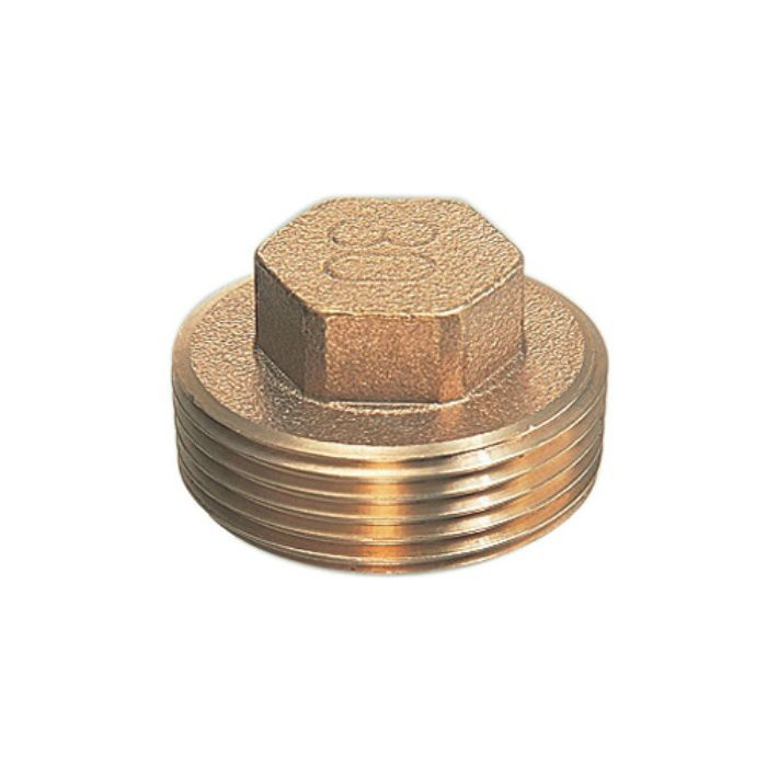 6168-50 配管継手 砲金プラグ 50