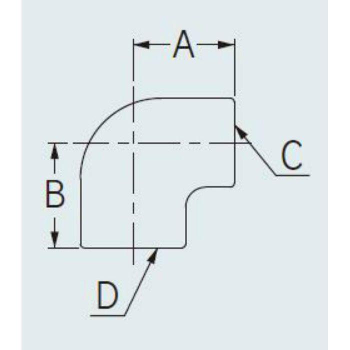 6470-25X20 配管継手 ステンレスエルボ 25×20
