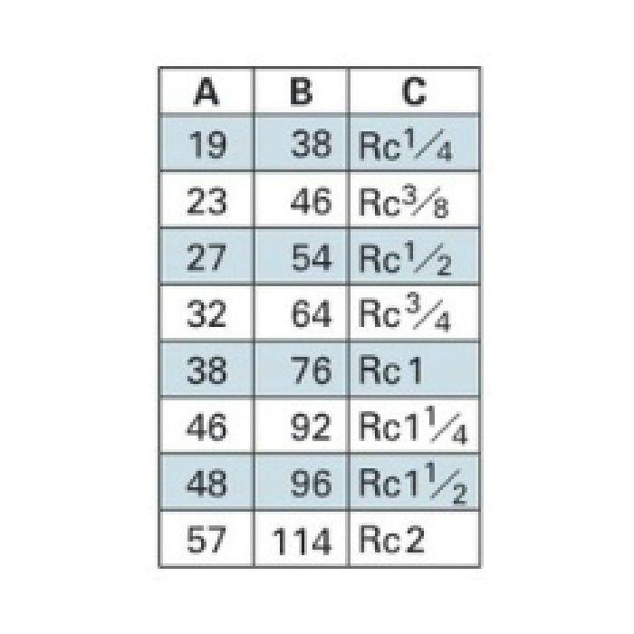 6471-50 配管継手 ステンレスチーズ 50