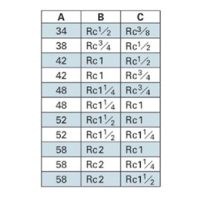 6472-25X20 配管継手 ステンレスソケット 25×20