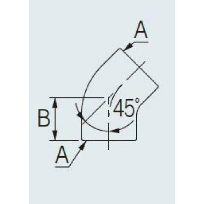 647-011-40 配管継手 ステンレス45°エルボ 40