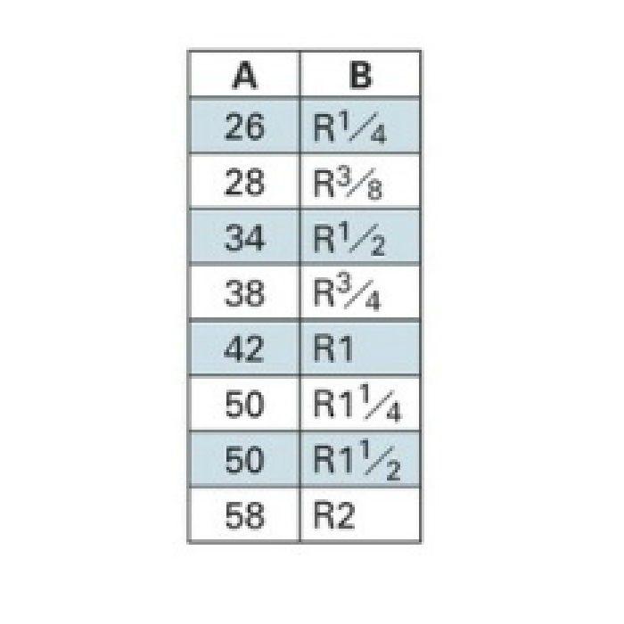 6475-6 配管継手 ステンレス丸ニップル 6