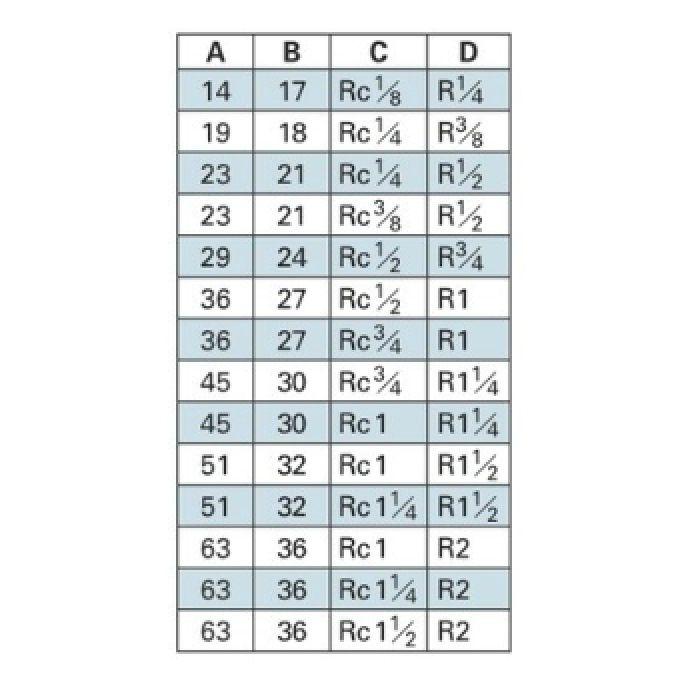 6478-50X25 配管継手 ステンレスブッシング 50×25