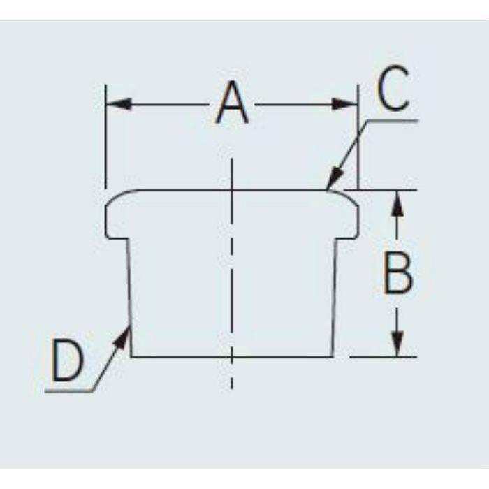 6478-50X40 配管継手 ステンレスブッシング 50×40
