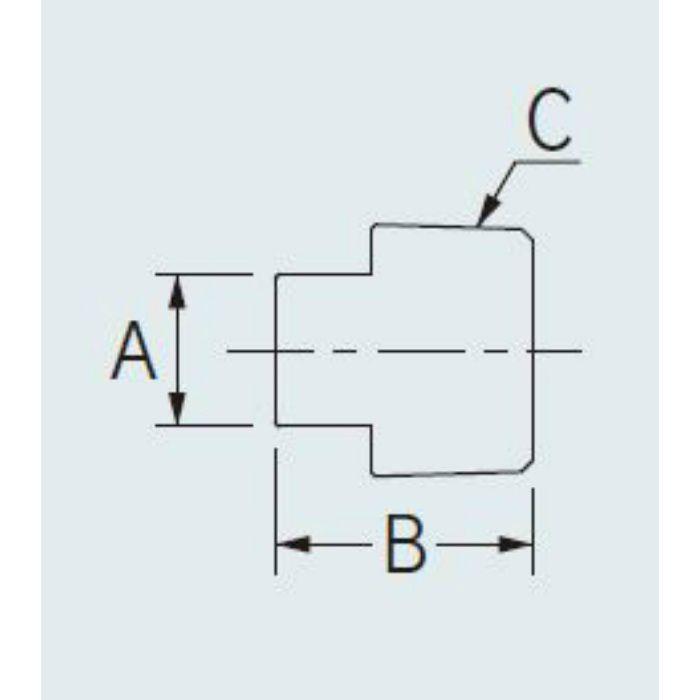 6479-40 配管継手 ステンレスプラグ 40