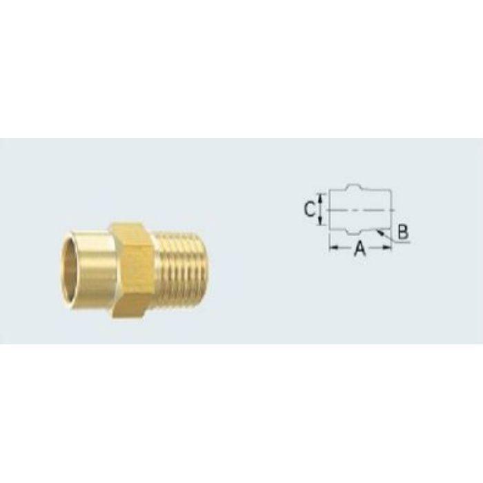 618-40-15.88 配管継手 銅管用外ネジアダプター