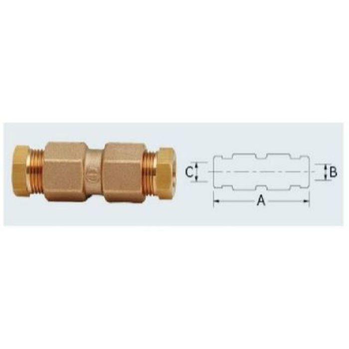668-024 配管継手 銅管用I型リングジョイント