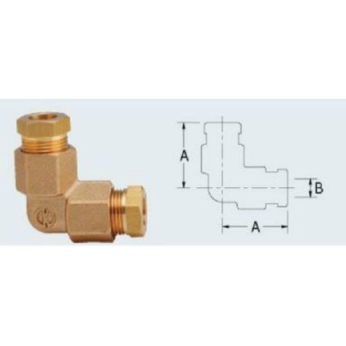 668-026 配管継手 銅管用L型リングジョイント