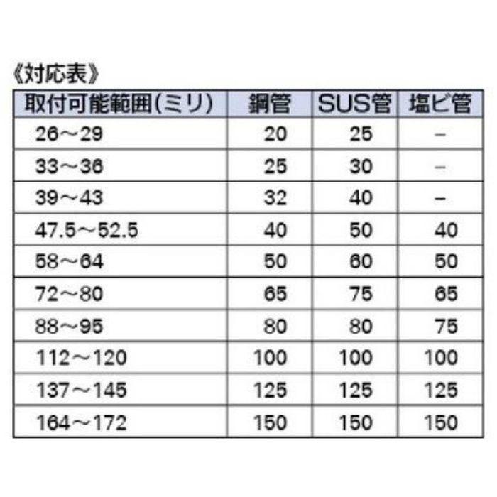 649-855-50 配管継手 鋼管用カップリング(UNI-GRIP)