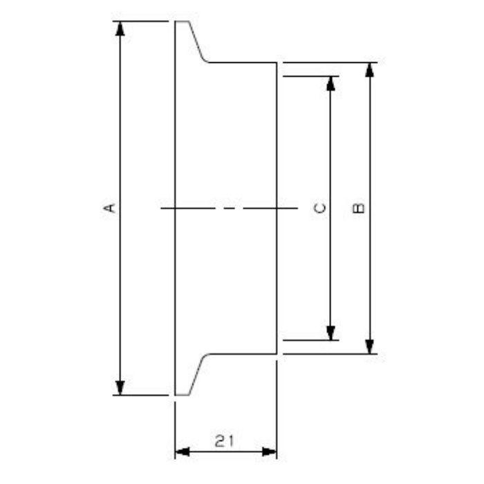 690-03-FXN 工場設備継手 異径ヘルール 3S×25A