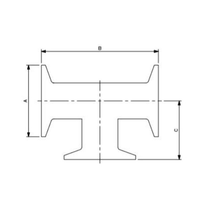 691-07-K 工場設備継手 ヘルールチーズ 10A