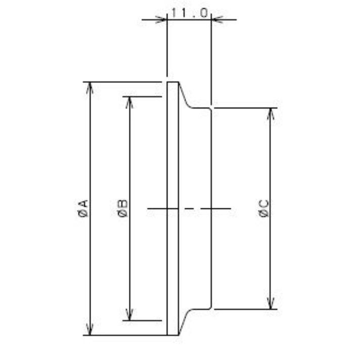 690-04-C 工場設備継手 ブラインドヘルール 1.5S