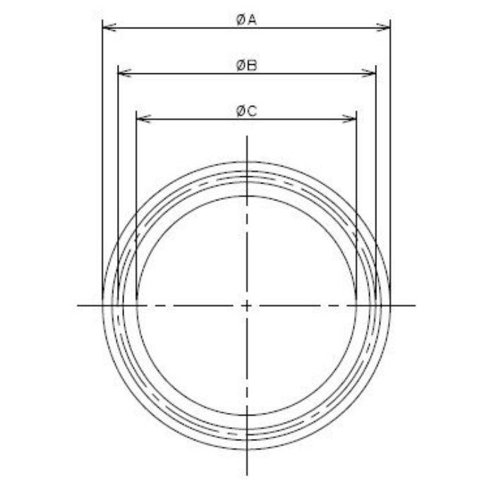 690-28-E 工場設備継手 ヘルールガスケット 2.5S