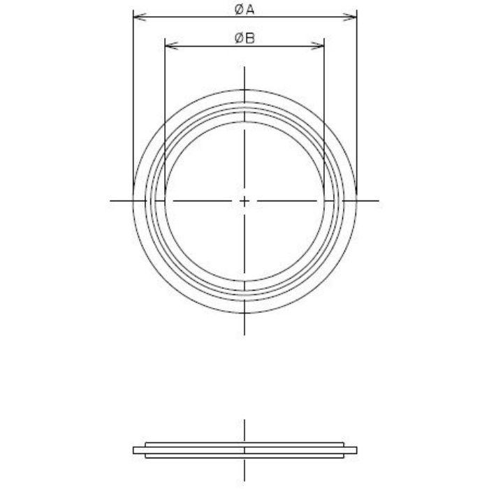 691-29-E 工場設備継手 ヘルールガスケット 2.5S