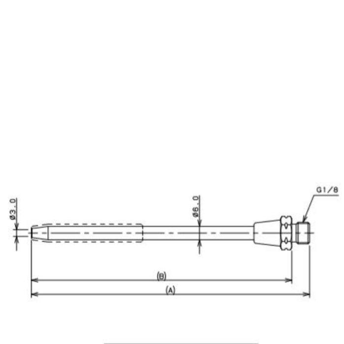 518-550-300 工場設備継手 ロングノズル 300mm