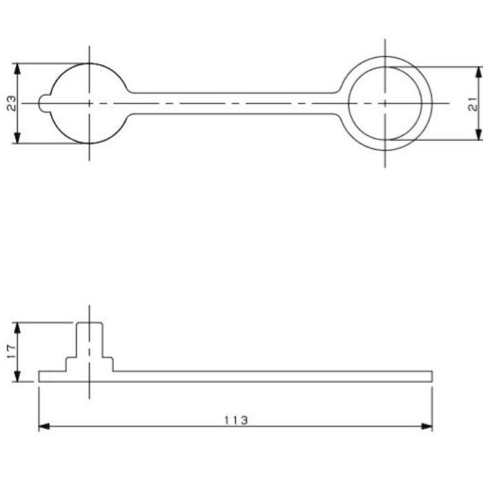 518-305 工場設備継手 エアカップリング用保護キャップ
