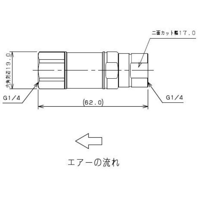 518-500-04 工場設備継手 エアー用定圧弁 0.4MPa