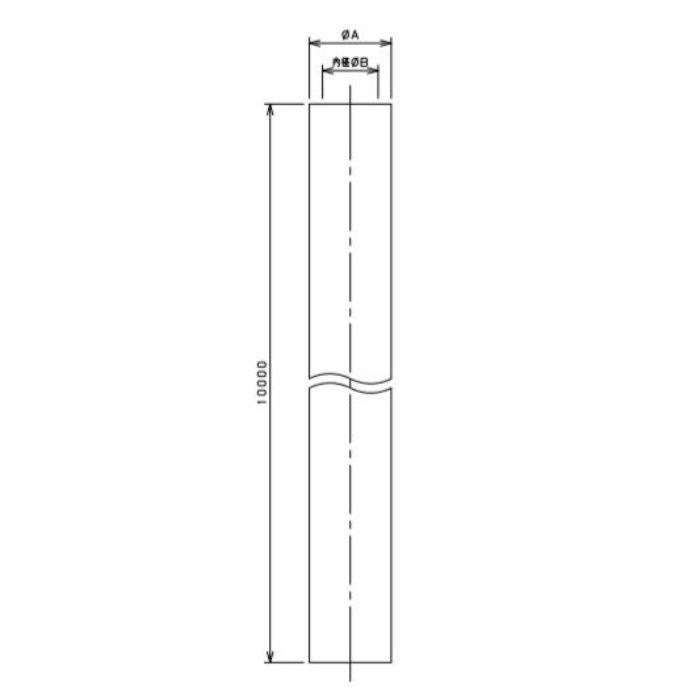 597-023-10 工場設備継手 汎用ホース 10m