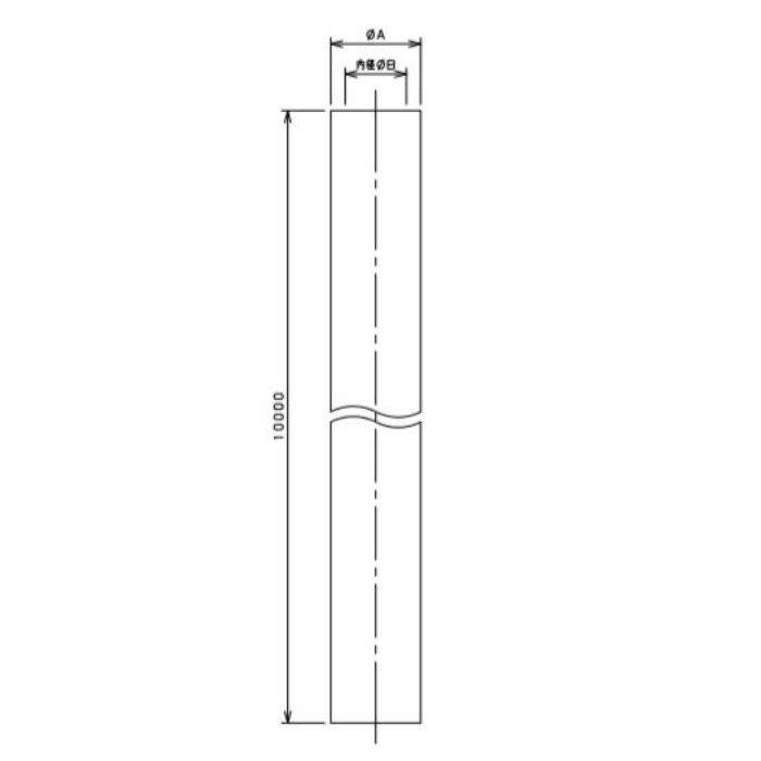 597-041-10 工場設備継手 高耐圧ホース(透明ラインつき) 10m