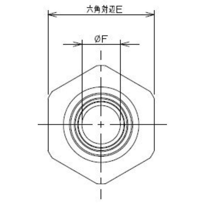 613-30-15X1/2 工場設備継手 ホースアダプター