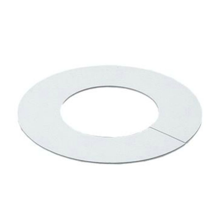 6217W-12.7 配管穴カバー用プレート ビニールプレート ホワイト