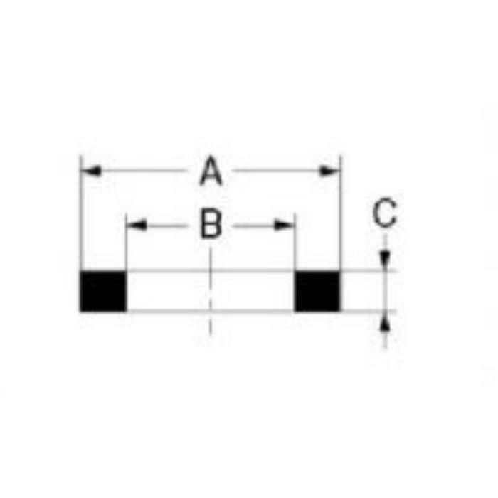 794-042-20 パッキン・ストレーナー パッキン 白色EPDM