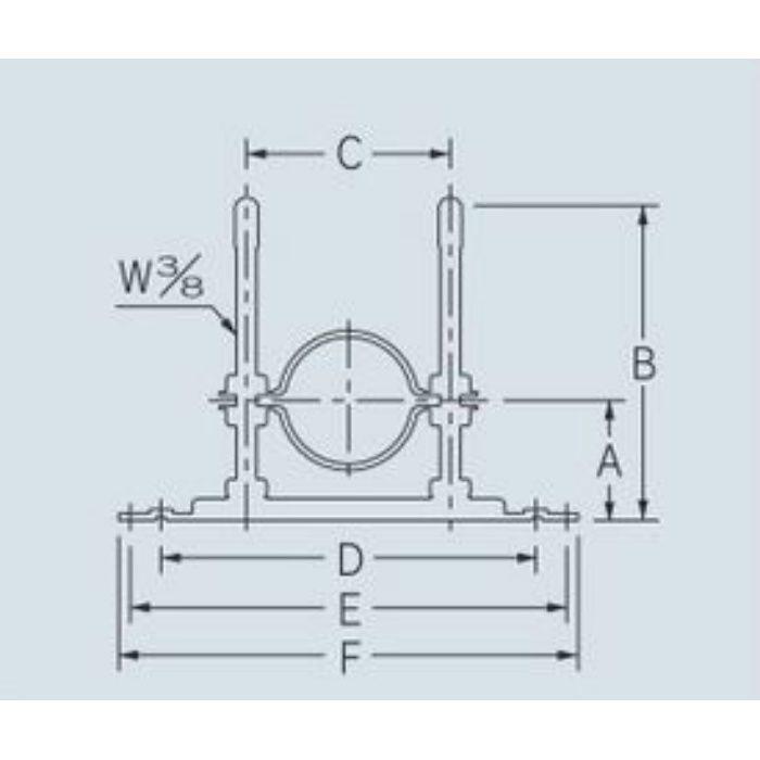 625-455-50C 配管固定バンド レベルバンド
