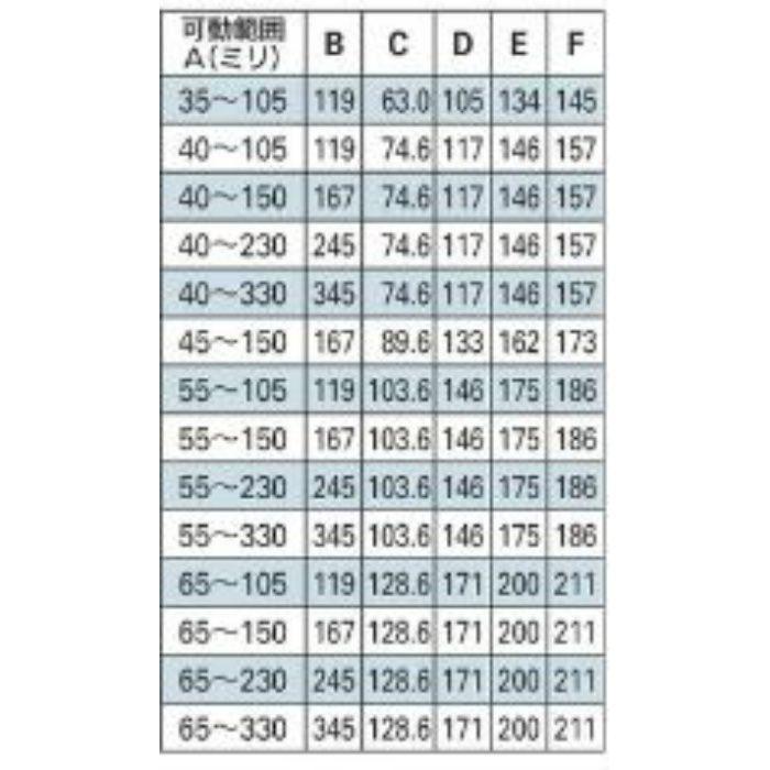 625-456-50D 配管固定バンド レベルバンド