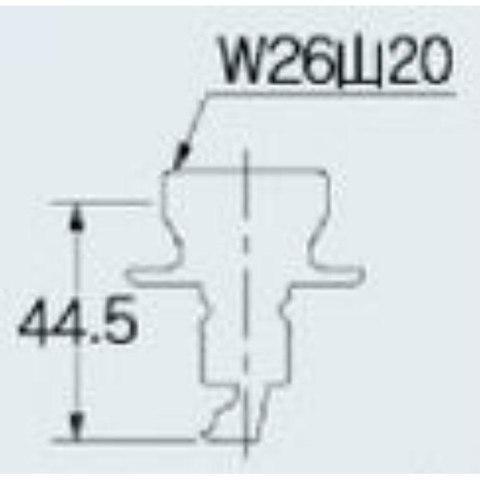 772-004 洗濯機用ニップル ストッパーつき