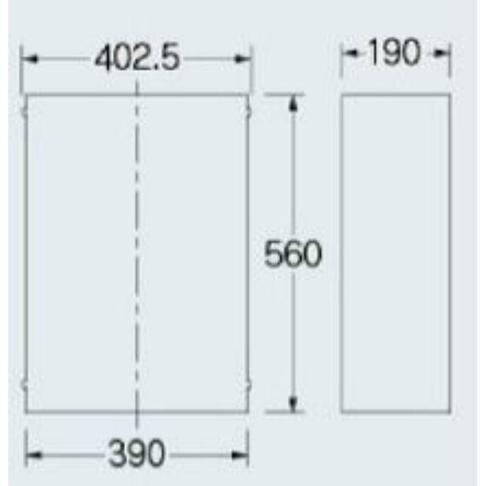 200-310 配管化粧カバー(493-083・493-153専用)