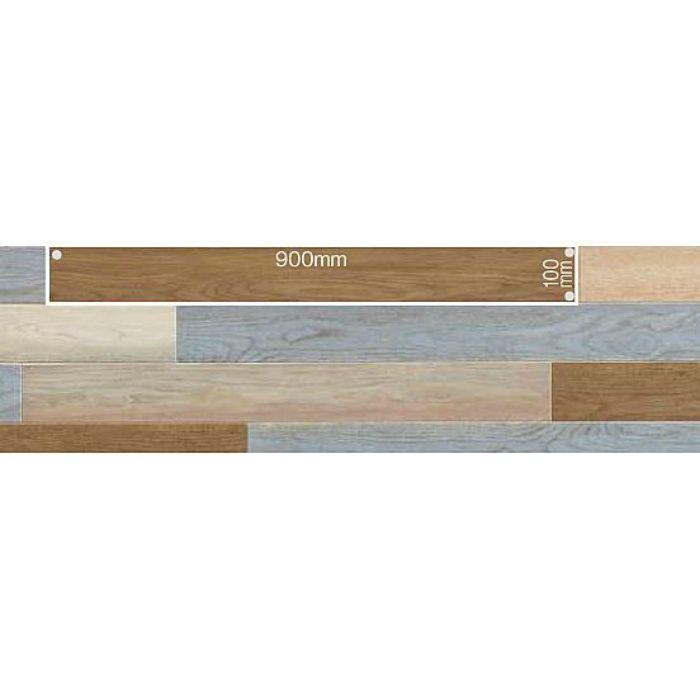 PWT2395 複層ビニル床タイル  FT ロイヤルウッド カラフルペイントオーク 3.0mm厚