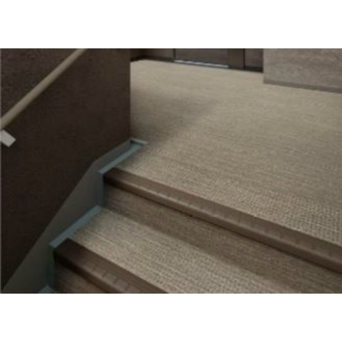 NSS885A5W 防滑性階段用床材(屋外仕様) 東リNSステップ800 Aタイプ(蹴込み一体型) 巾 1200mm
