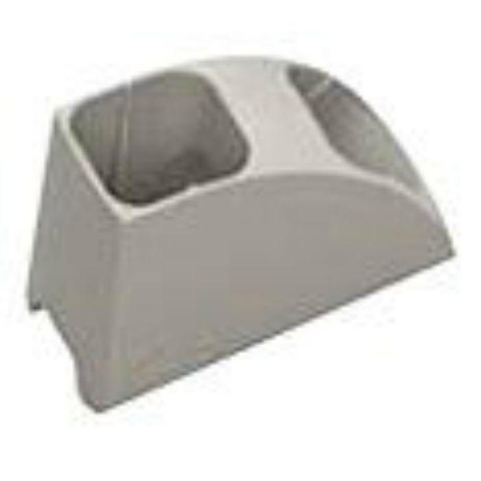 NSK104 エアコン室外機排水用溝材 NSパス用ホース固定材 内径=20.5mmφ 20個/ケース(瞬間接着剤3g×2個同梱)