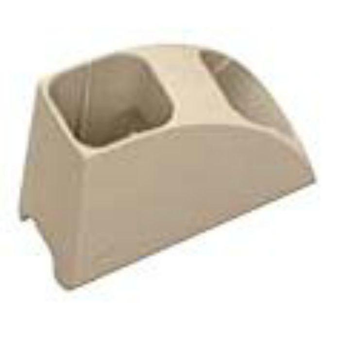 NSK110 エアコン室外機排水用溝材 NSパス用ホース固定材 内径=20.5mmφ 20個/ケース(瞬間接着剤3g×2個同梱)