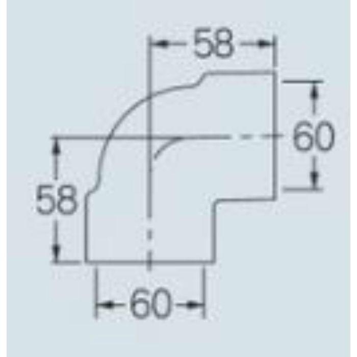 437-712-50 排水用耐熱エルボ